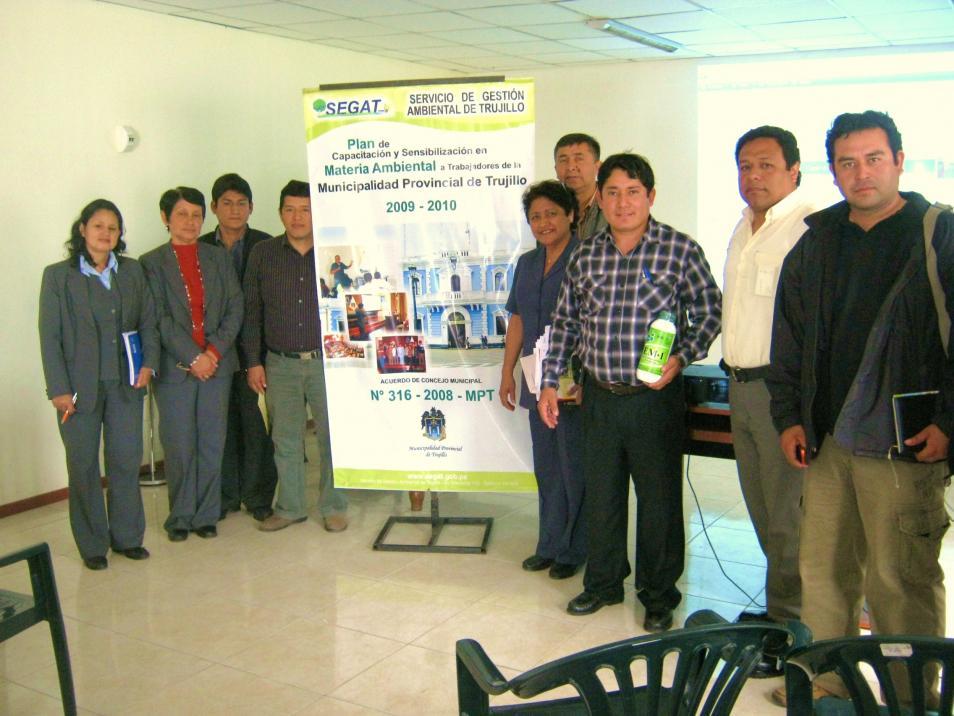 Servicio de gestión ambiental de Trujillo